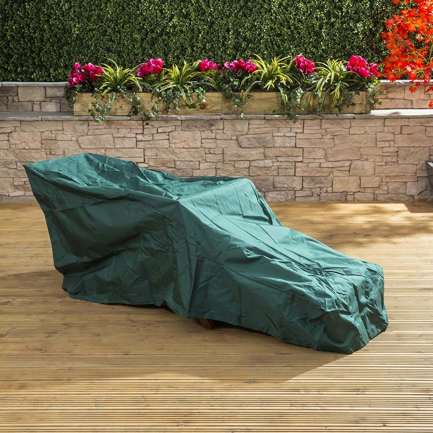 Deluxe Steamer Chair Garden Furniture Cover Alfresia
