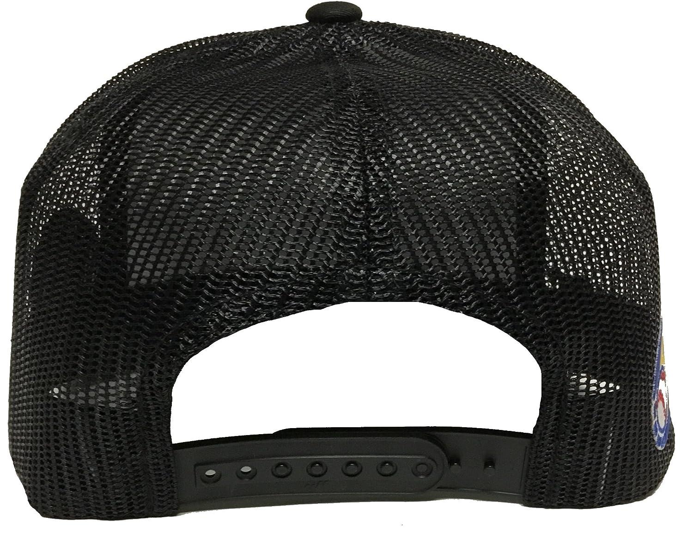 e28ff3382c7 El Chapo Guzman Sinaloa Logo Federal 3 Logos Hat Black Mesh Snapback at Amazon  Men s Clothing store