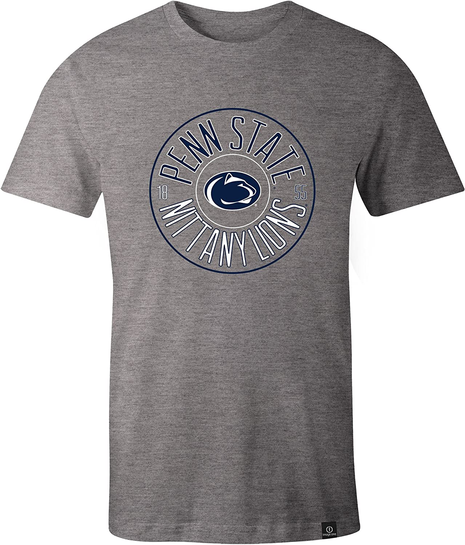 NCAA円イメージ1つEveryday半袖Tシャツ XX-Large グレイ
