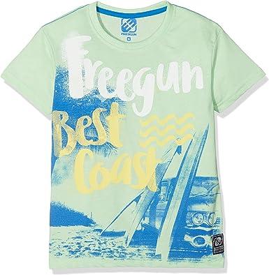 Boys Polo Shirt Freegun
