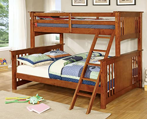 Furniture of America Denny TwinXL-Queen Bunk Bed