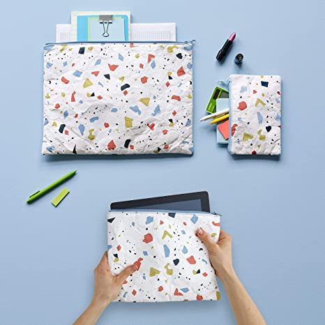 Amazon.com : Design Ideas Folio Pouch, Printed Tyvek Laptop ...