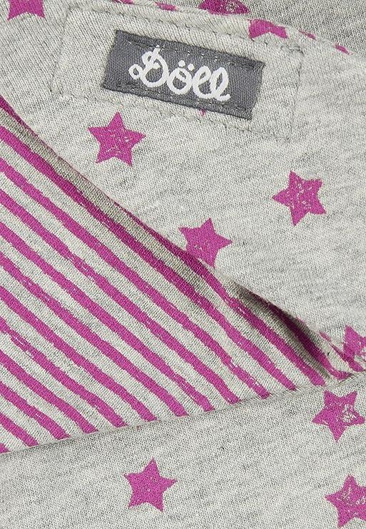 D/öll Unisex Baby Dreieckstuch mit Klett Fleece Halstuch
