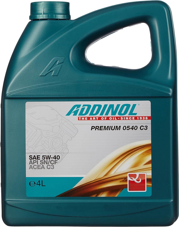 Addinol Premium 5w 40 C3 Engine Oil 4 Litres Auto