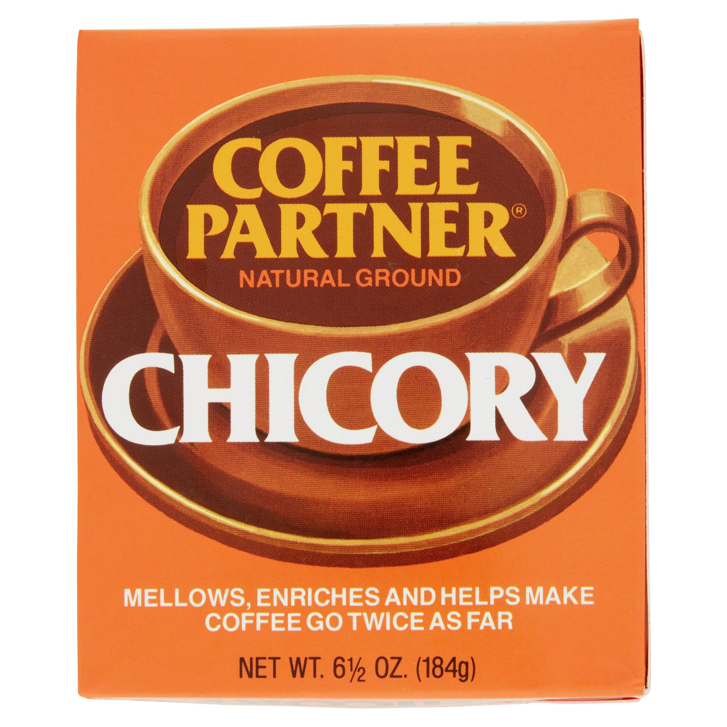 Coffee Partner Natural Ground Chicory Coffee, 6.5 Ounce