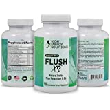 HIGH ENERGY SOLUTIONS Flush XS 120 Capsules Herbal Diuretic Supplements For Water Retention, PMS,