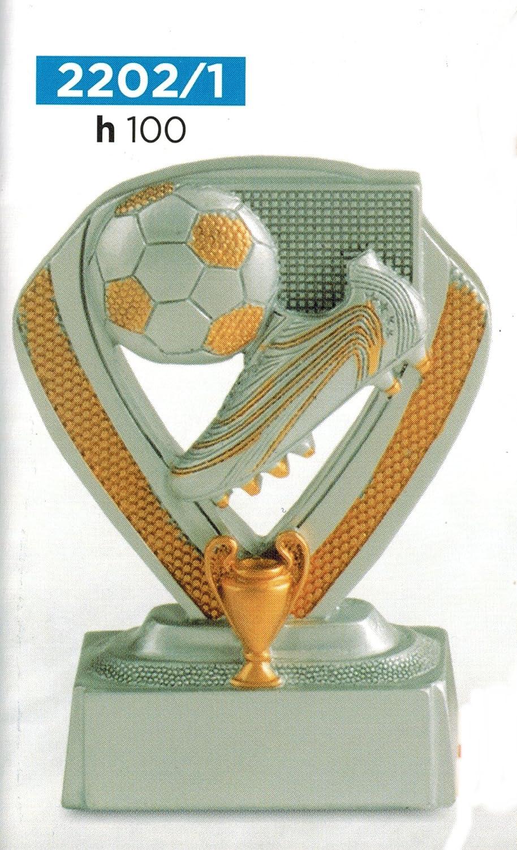 Trofeo de fútbol con bota y balón, con grabado incluido, 10 cm de ...