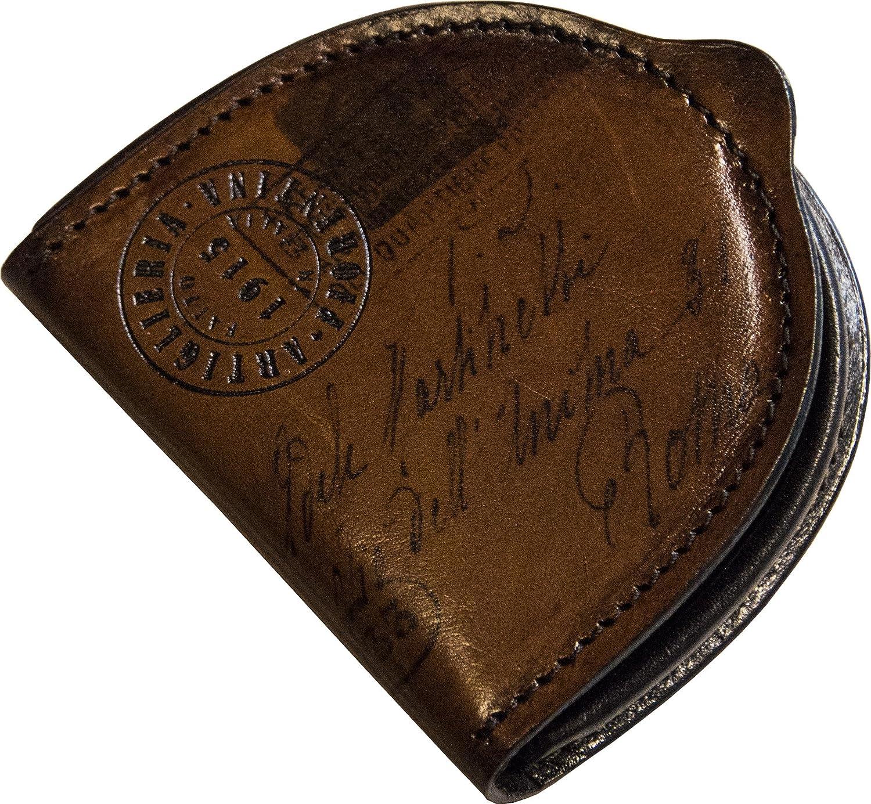 Marron fonc/é STILORD Varys Bourse Porte-Monnaie Cuir Sac /à Monnaie Petit Vintage Mini-Portefeuille Portefeuille Cuir V/éritable Couleur:Cognac