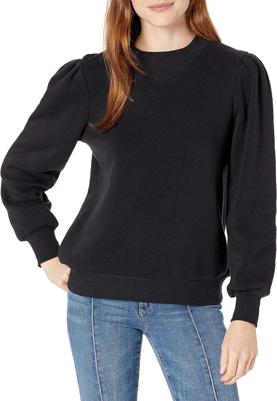 Cable Stitch free Women's Sweatshirt Sleeve 5 ☆ very popular Blouson