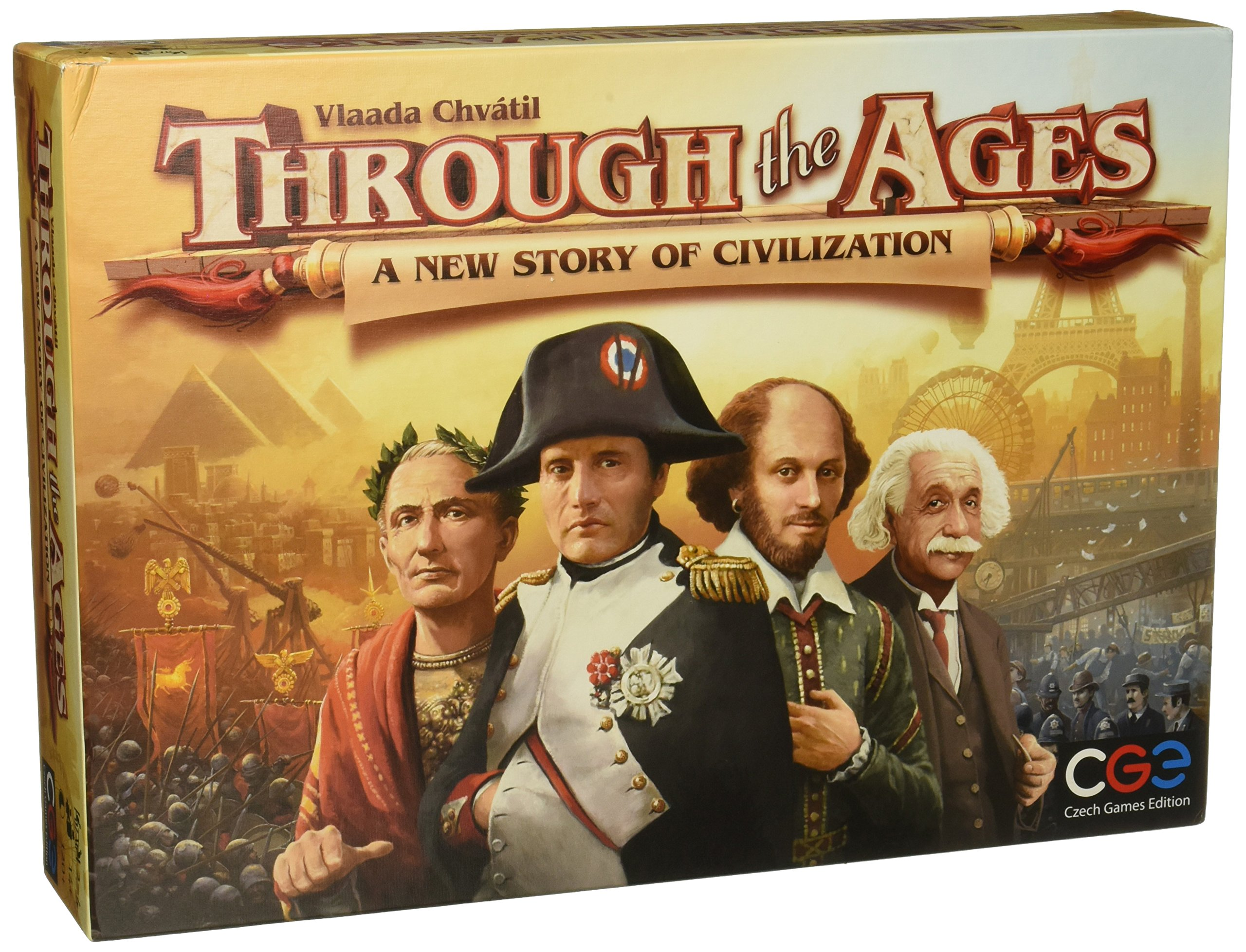 Czech Games Edition CGE00032 Through the Ages [2015] - A New Story of Civilization, Board Game by Vlaada Chvatil