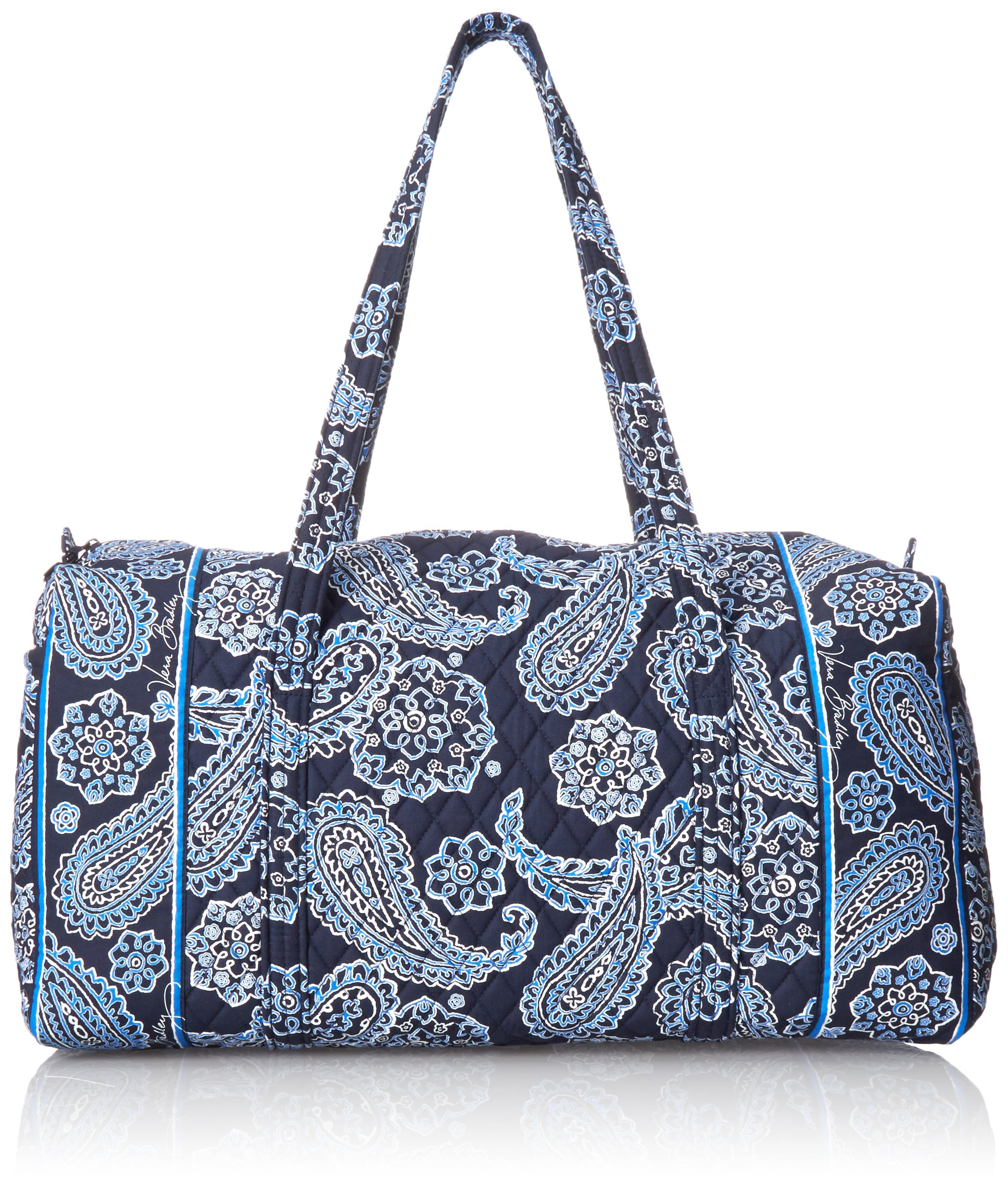 Women's Large Duffel, Signature Cotton, Blue Bandana