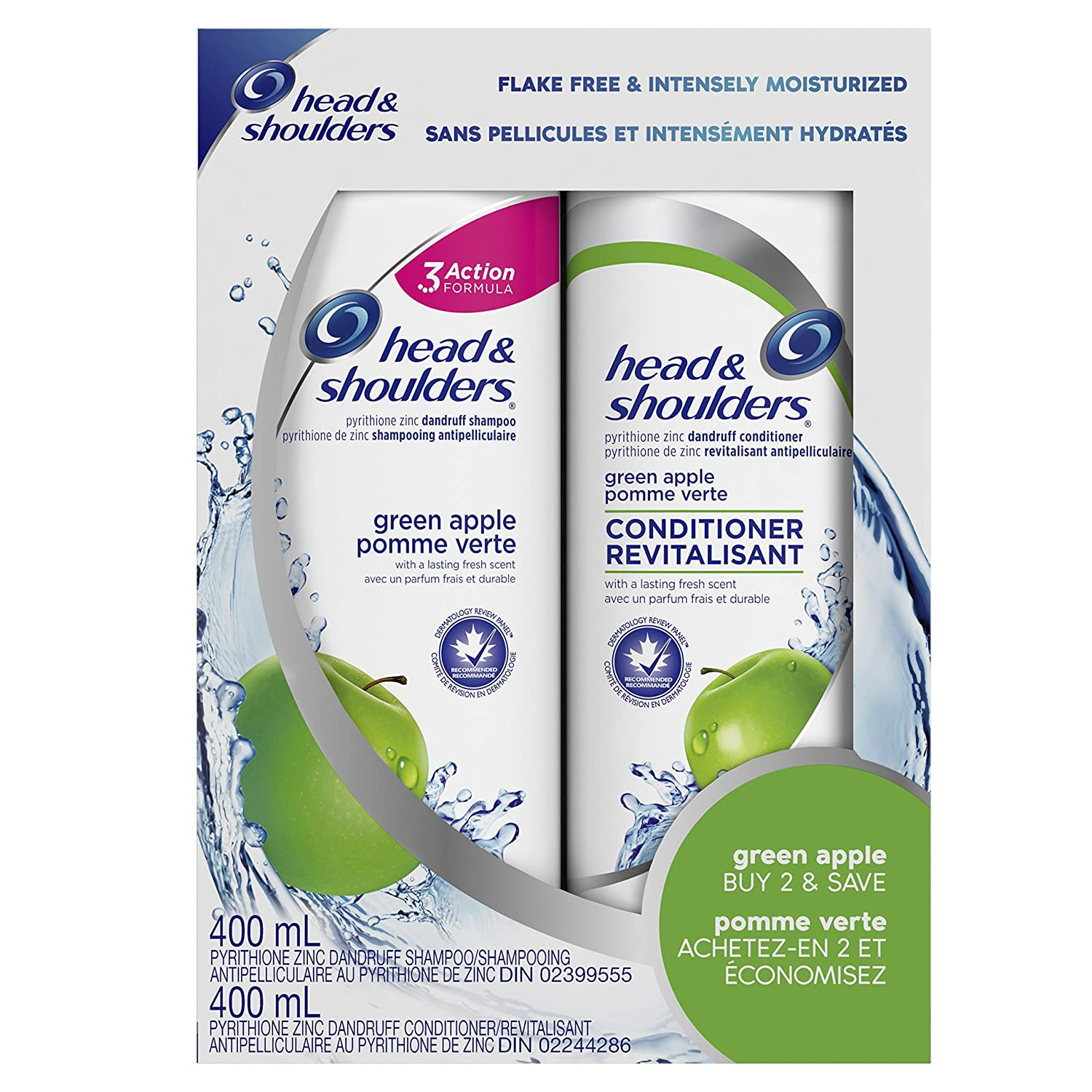 Head & Shoulders Smooth & Silky 2In1 Dandruff Shampoo + Conditioner, 380ml Procter and Gamble