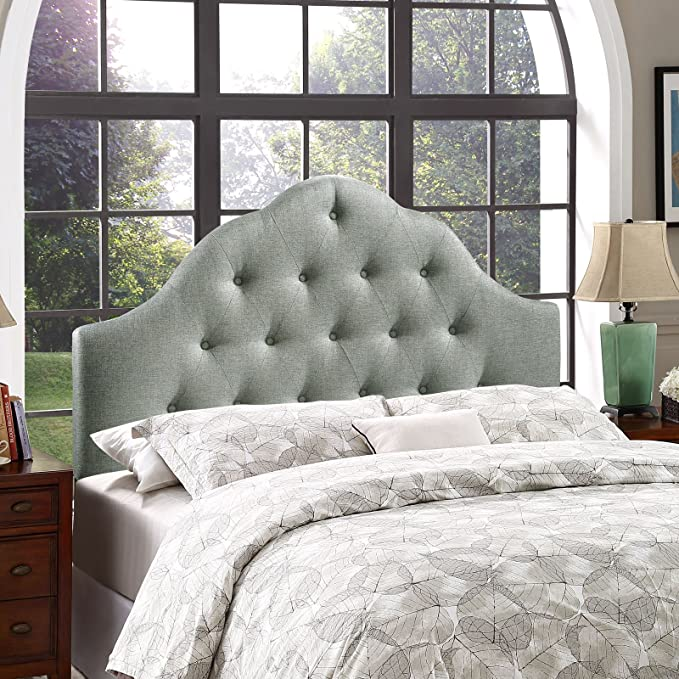 Modway Sovereign Tufted Button Linen