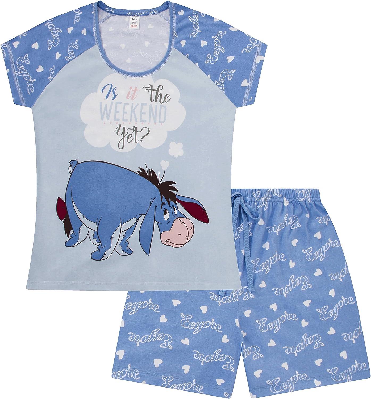 Disney Eeyore is It The Weekend Yet Short Ladies Womens Pyjamas