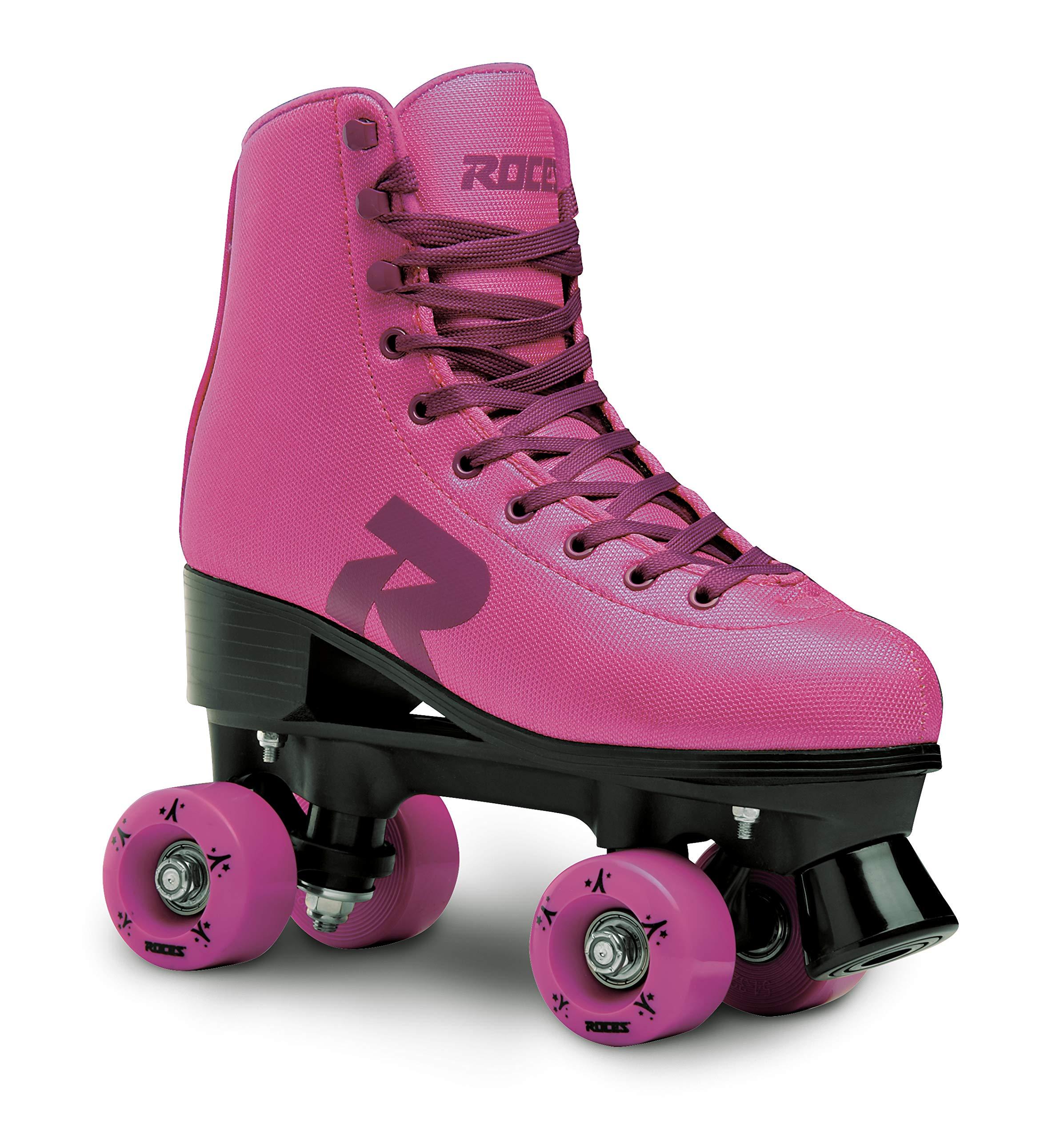Roces 550062 Model 52 Star Roller Skate, US 4M/6W, Pink/Violet