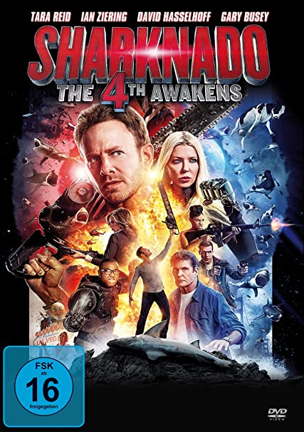 Sharknado 4: The 4th Awakens [Alemania] [DVD]: Amazon.es: Ian ...