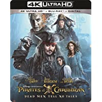 Deals on Pirates of the Caribbean: Dead Men Tell No Tales 4K/UHD + Blu-ray