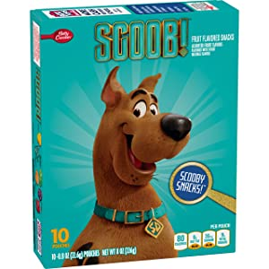 Betty Crocker Scooby Doo Fruit Flavored Snacks Assorted Flavors 10 - 0.8 oz Pouches