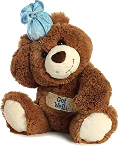 "Aurora - Bear - 12"" Get Well Bear"