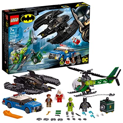 LEGO DC Batman: Batman Batwing and The Riddler Heist 76120 Building Kit (489 Pieces): Toys & Games
