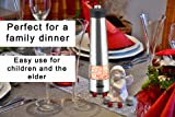 Electric Salt and Pepper Grinder Set | Battery