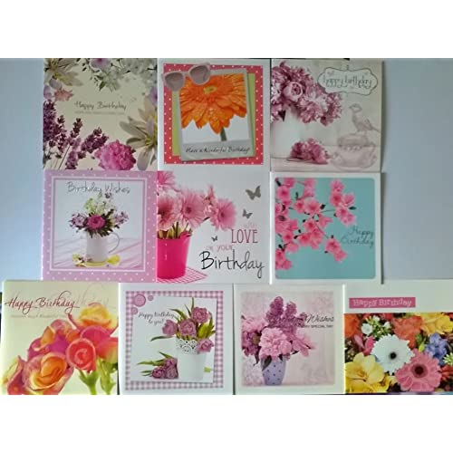 Floral Birthday Cards Amazon