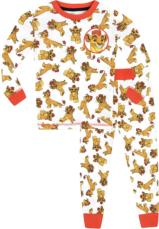 Disney Pijama para Niños La Guardia del León Ajuste Ceñido: Amazon.es: Ropa y accesorios