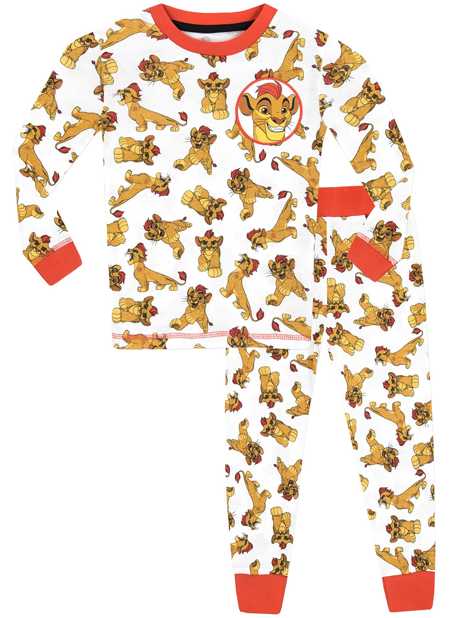 Disney The Lion Guard Boys' Lion Guard Kion Pajamas Size 4