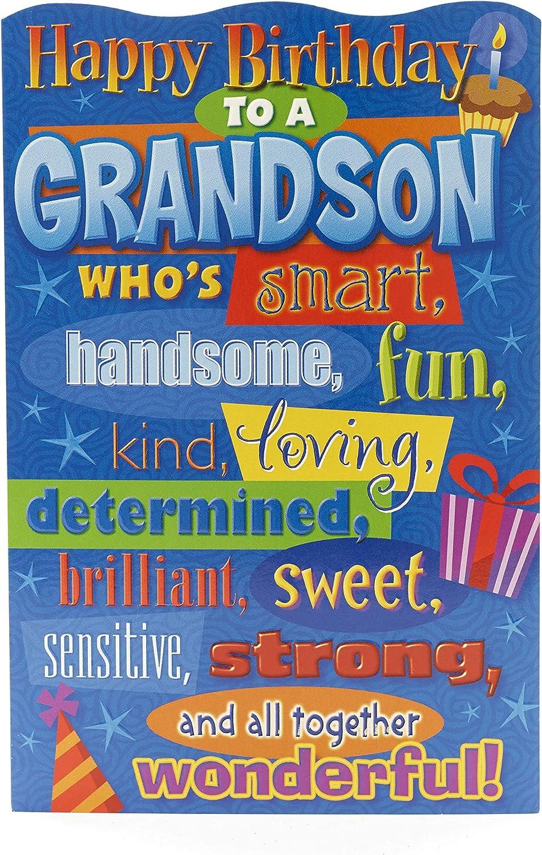 GRANDSON BIRTHDAY CARD