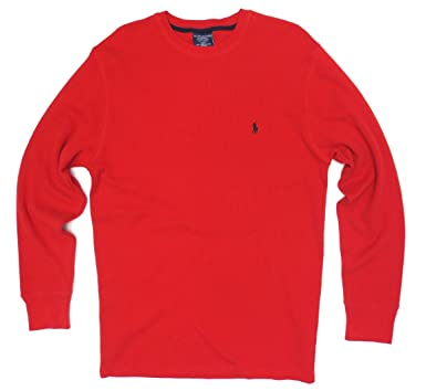 0251d903e4 Image Unavailable. Image not available for. Color  Polo Ralph Lauren Mens  Long-sleeved T-shirt   Sleepwear ...