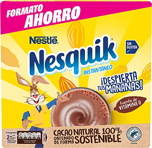 Nesquik Cacao Soluble Instantáneo, 2,85 kg: Amazon.es ...