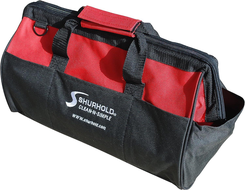 "Shurhold Dual Action Random Orbital Car Boat Buffer Polisher Starter Kit with 16oz Pro Polish Wax & Sealant, 6.5"" Foam Pad, Microfiber Towel, and Carrying Bag: Automotive"
