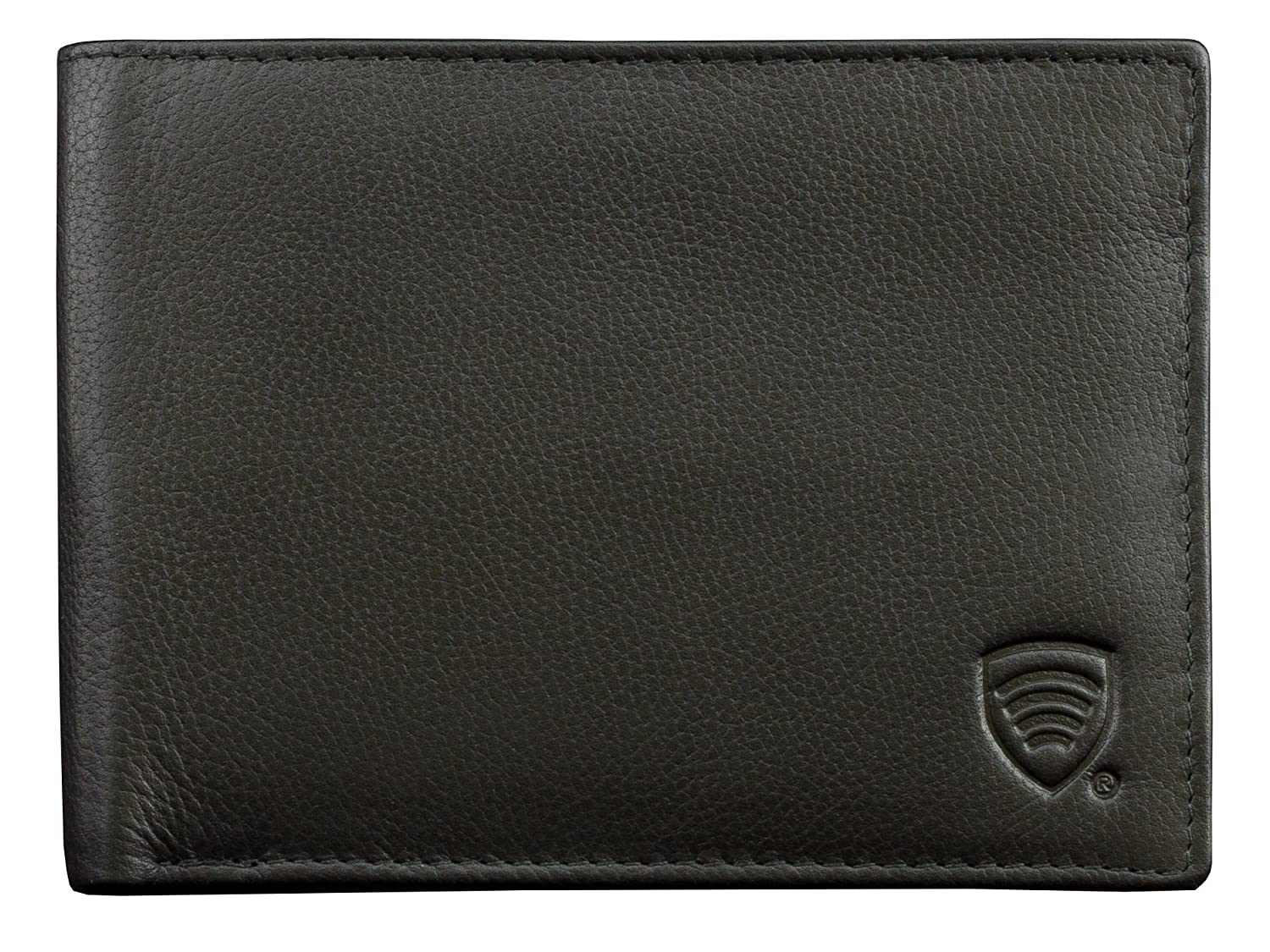 37bc489cbfc7 RFID Blocking mens Genuine Leather Shielded Billfold Credit Debit cards  Protective Wallet (BBS): Amazon.co.uk: Luggage