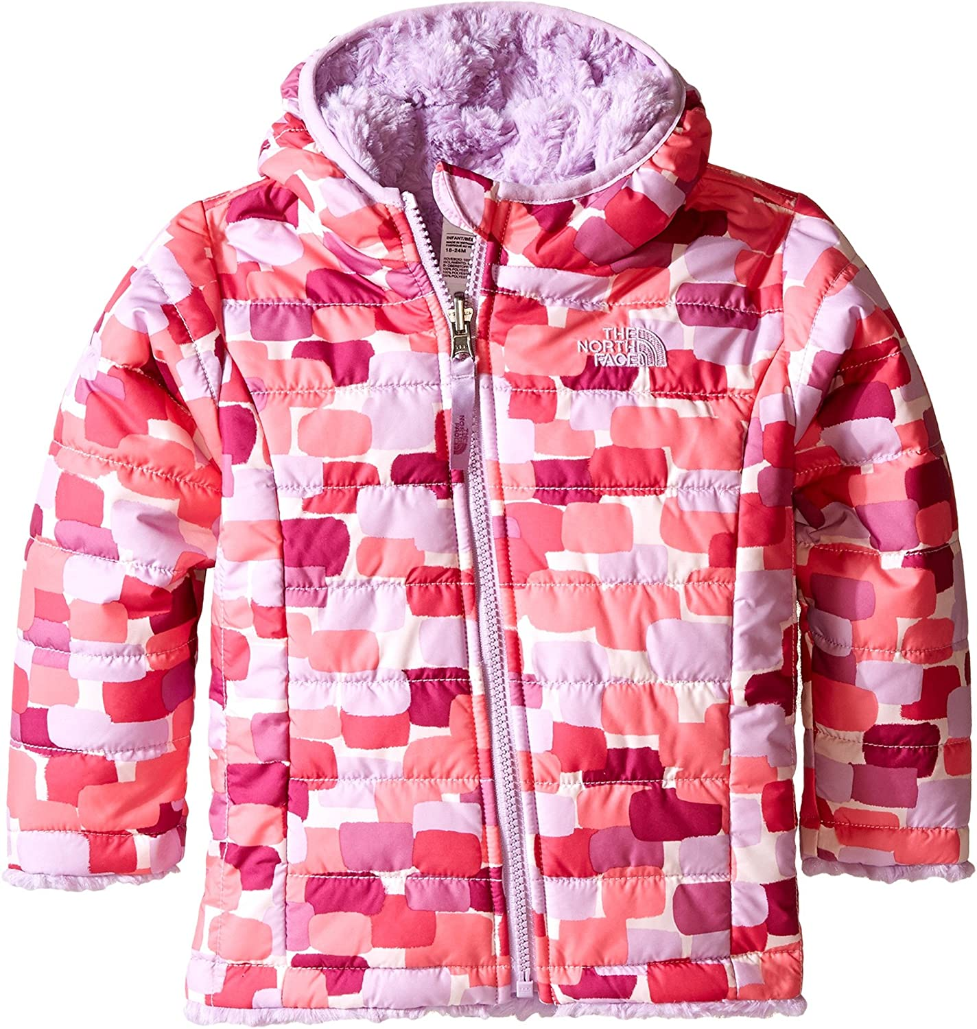 The North Face Baby Girls' Reversible Mossbud Swirl Hoodie 0A8A9