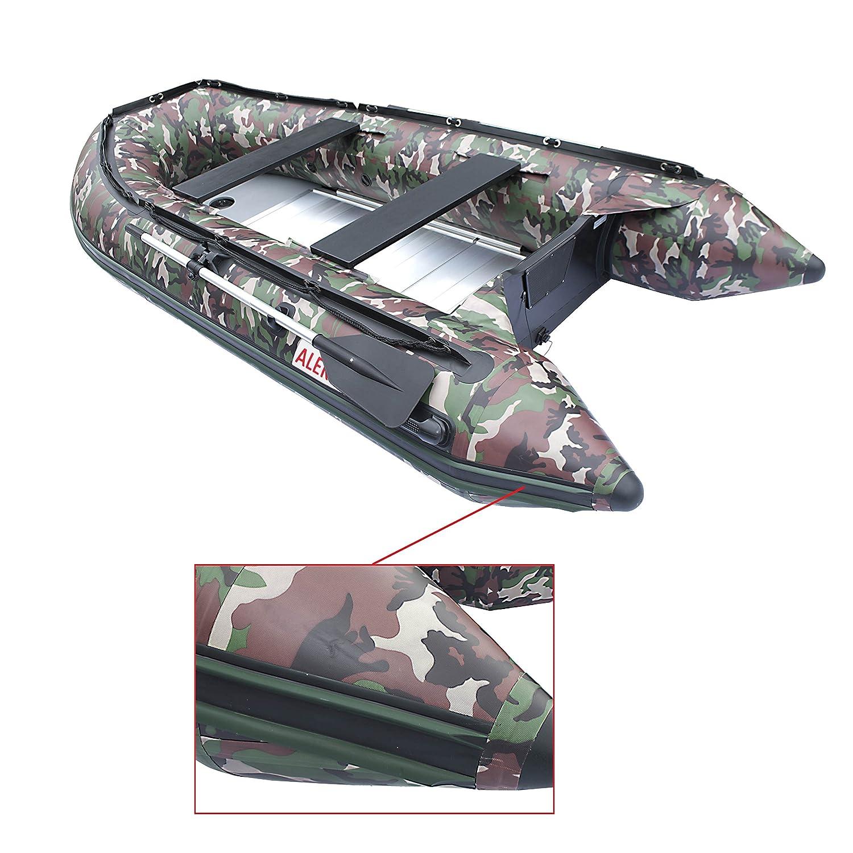ALEKO bt320 cm hinchable barco de camuflaje 10,5 pies suelo ...