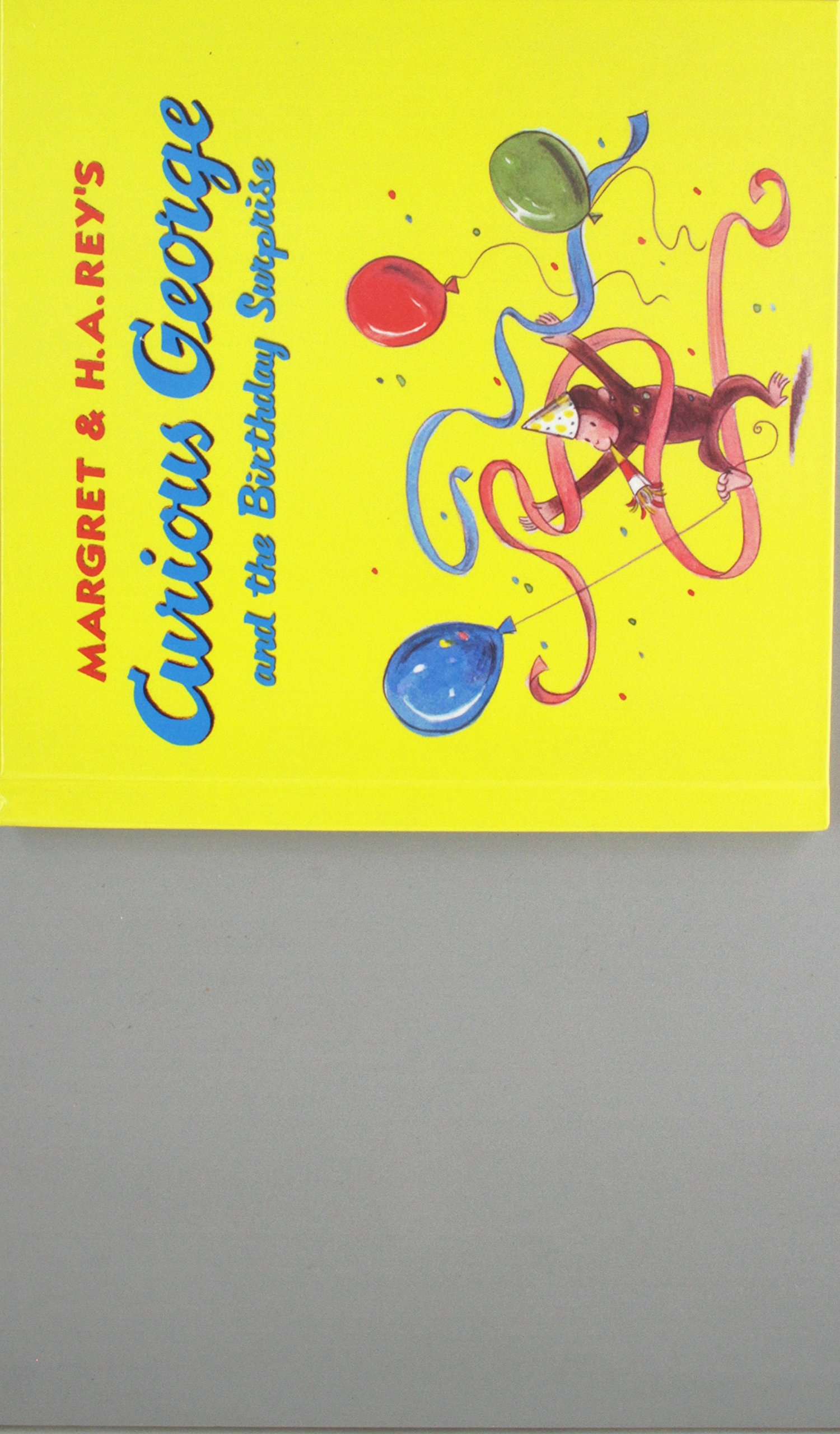 Curious George and the Birthday Surprise Prebound - Glued (Curious George 8x8)
