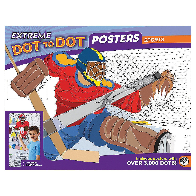 amazon com mindware u2013 extreme dot to dot sports posters