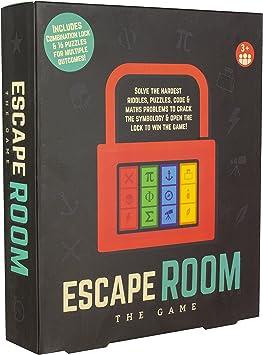 Purple Donkey PP4531 - Juego de salón de Escape: Amazon.es: Juguetes y juegos