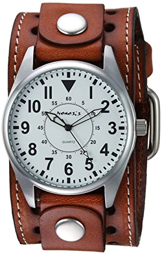 Nemesis Men s BSTH095W Brown Collection Dial Presition Display Watch
