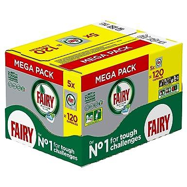 Fairy – Platinum Todo en Uno Lavavajillas 120 Tablets (5x24 pack)