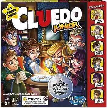 Hasbro Cluedo Junior - Juego de Mesa Infantil - Versión Francesa ...