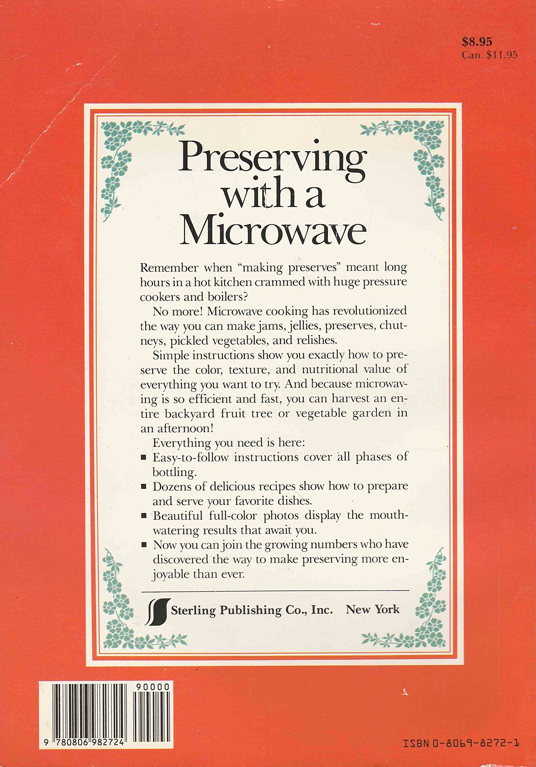 gourmet guide to instant preserving jams and pickles in the microwave