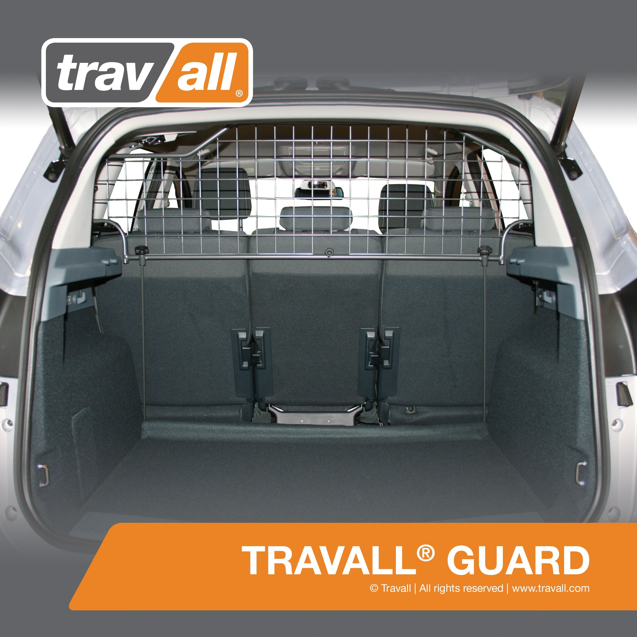 FORD C-Max Pet Barrier (2010-Current) - Original Travall Guard TDG1304 [5 SEAT MODELS ONLY]
