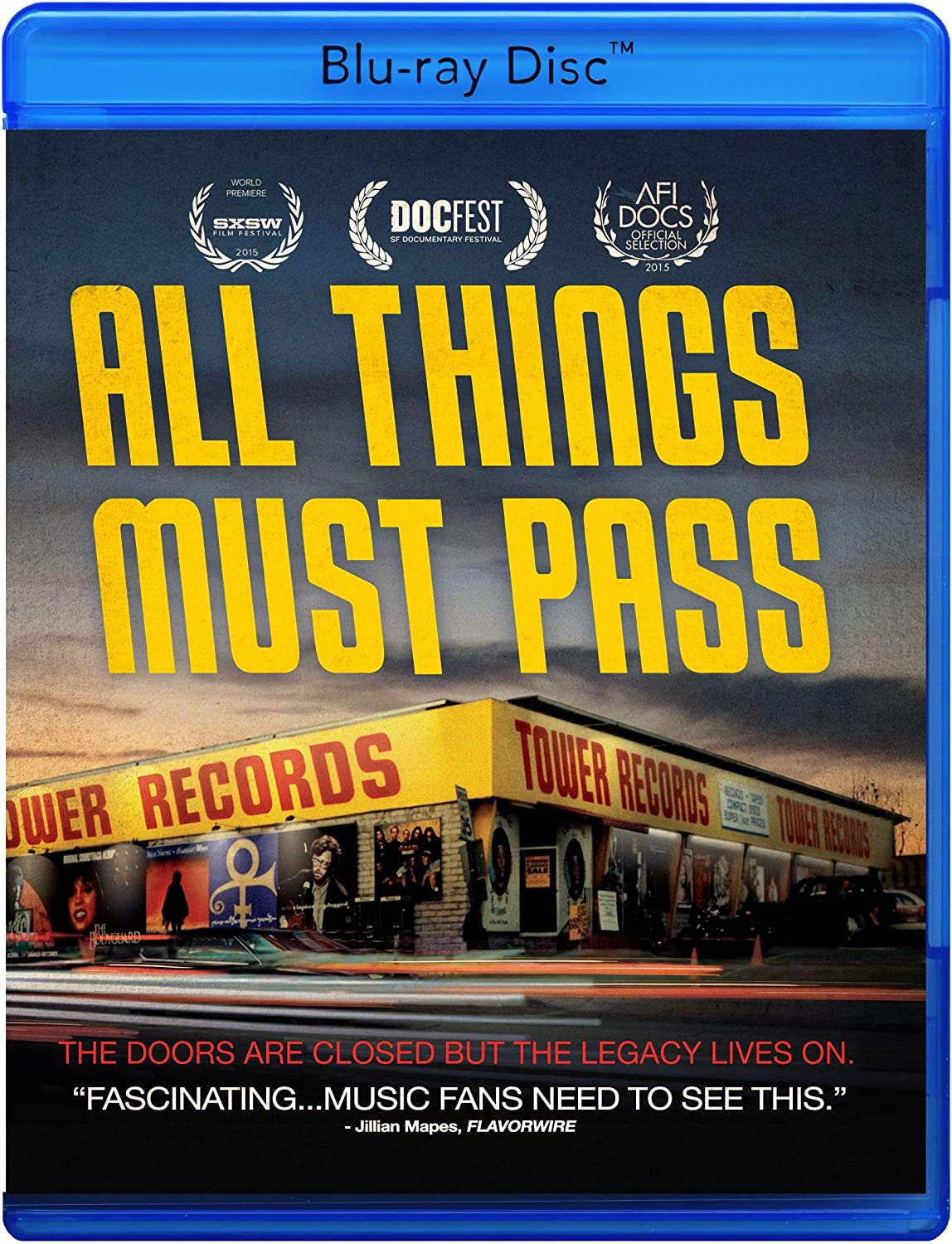 Amazon All Things Must Pass The Rise And Fall Of Tower Records Blu Ray Elton John Bruce Springsteen Dave Grohl Russ Solomon Chris Cornell
