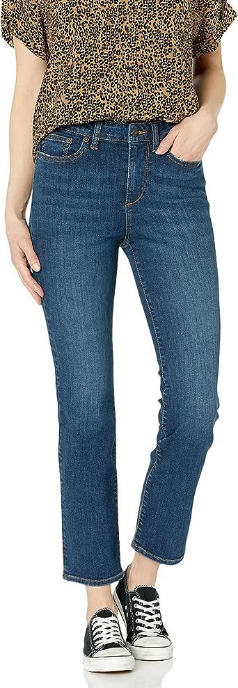 Goodthreads Amazon Brand Women's High-Rise Slim Straight Jean