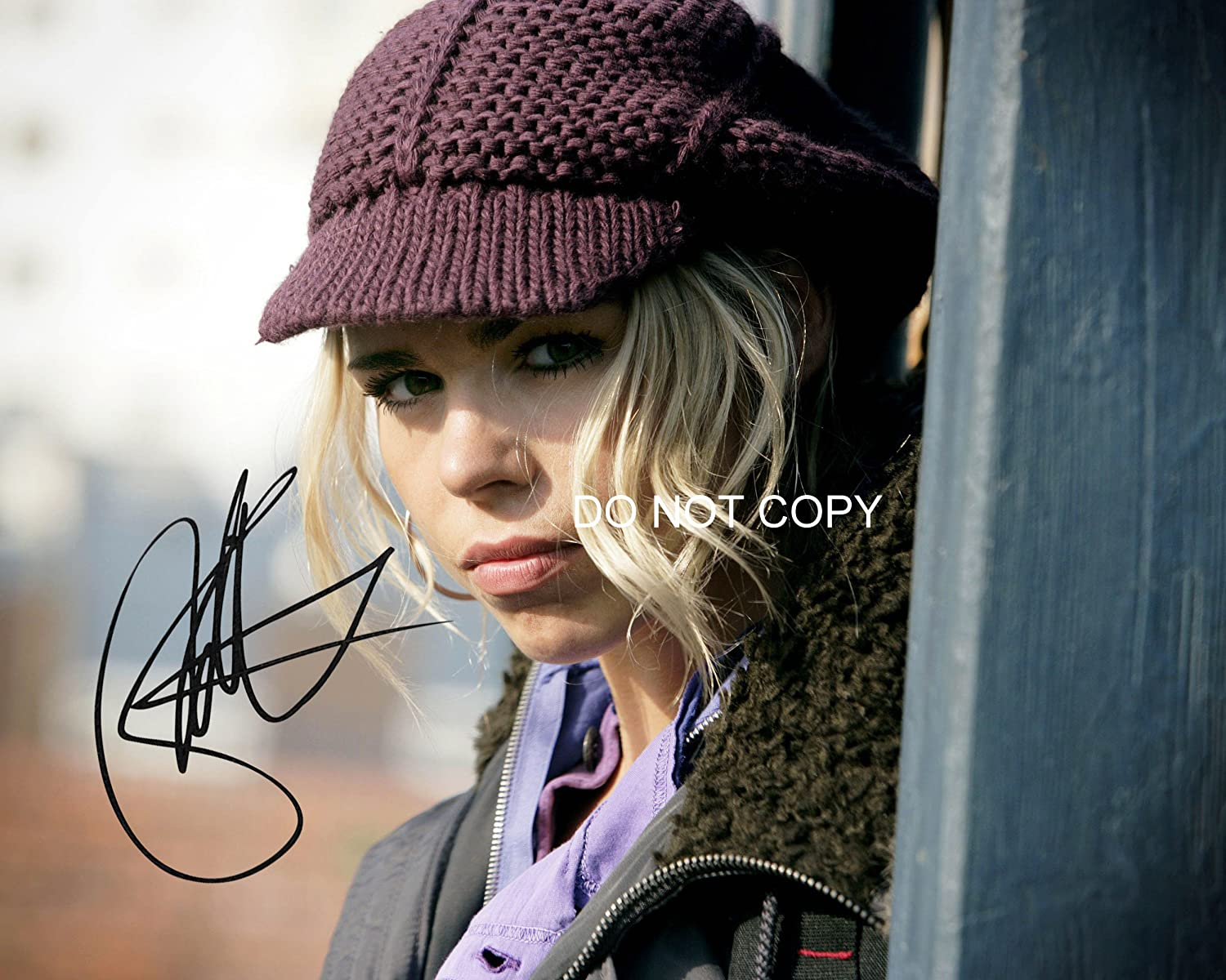 Billie Piper of Doctor Who reprint signed gorgeous 8x10 photo #6 RP Rose Tyler