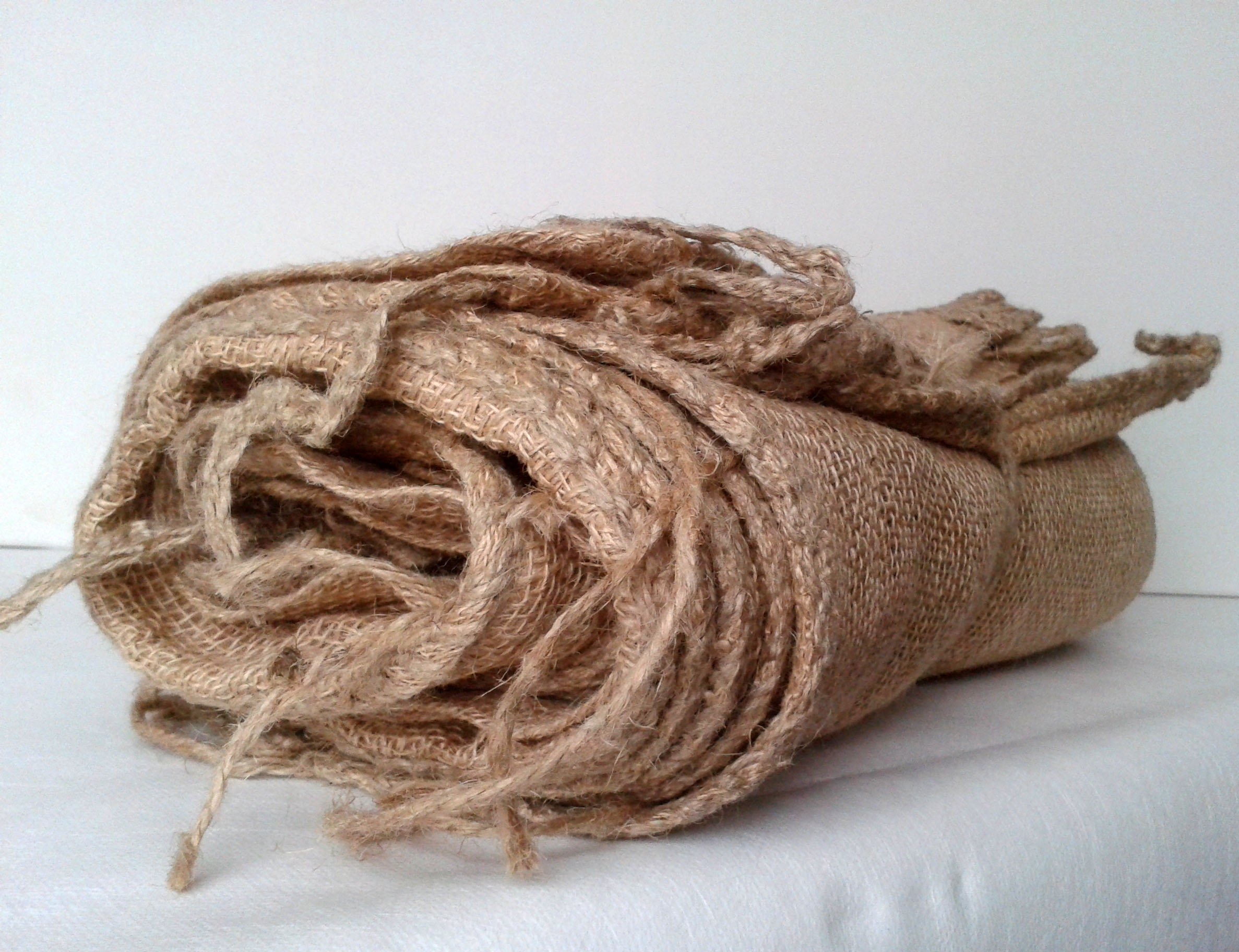 10 Hessian Sand Bags - Unfilled