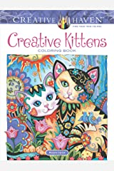 Adult Coloring Creative Kittens Coloring Book (Creative Haven Coloring Books) Paperback