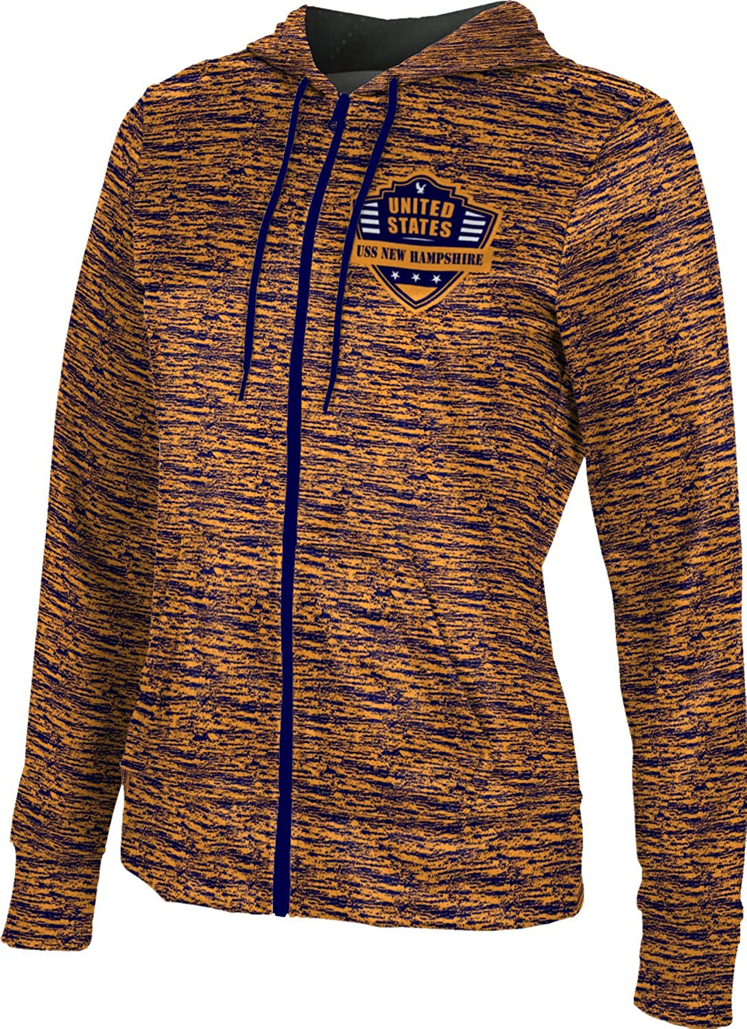 ProSphere Women's USS New Hampshire Military Brushed Fullzip Hoodie