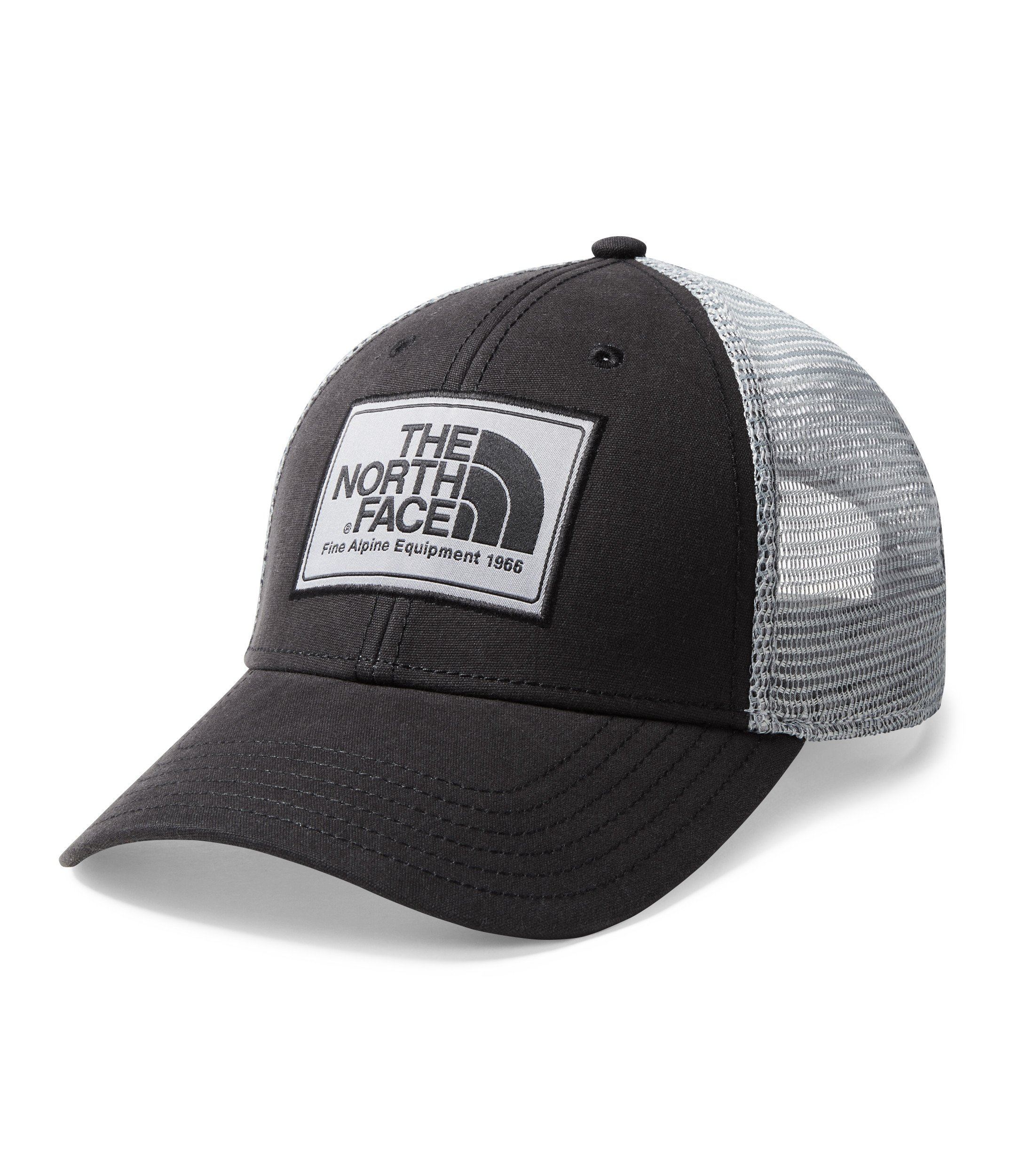 The North Face Mudder Trucker Hat - TNF Black & Mid Grey - OS